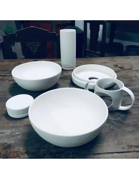 Porcelana Masa Plástica Blanca